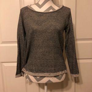Sweaters - Women's ripped skull sweater